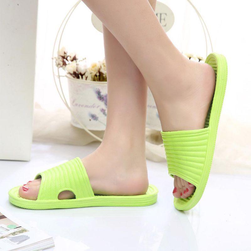 Women-Flip-Flop-Sport-Shower-House-Shoes-Plastic-Slip-Sandals-Slippers-Solid thumbnail 6