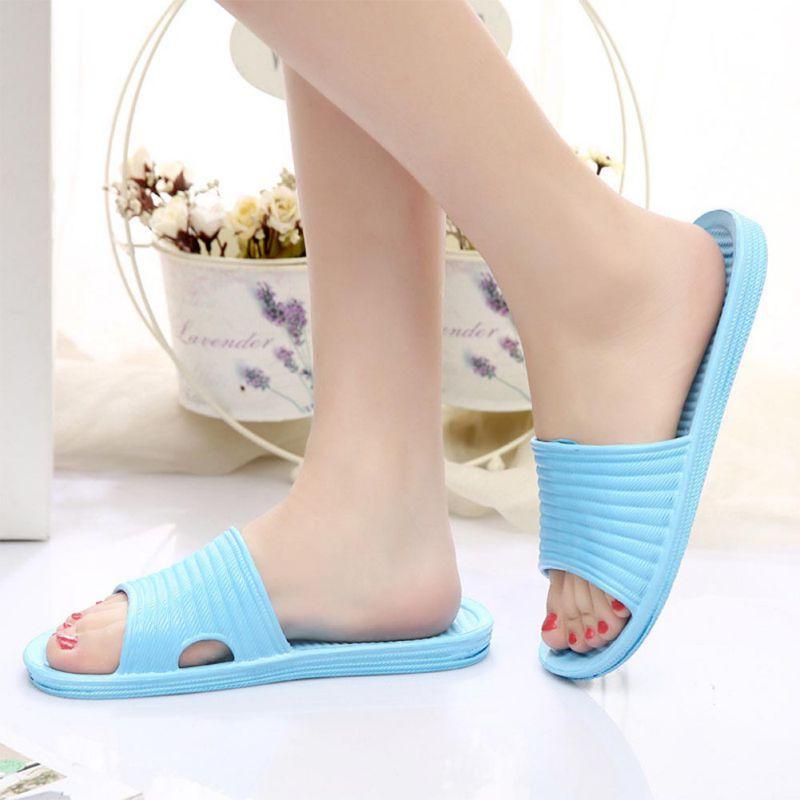 Women-Flip-Flop-Sport-Shower-House-Shoes-Plastic-Slip-Sandals-Slippers-Solid thumbnail 9