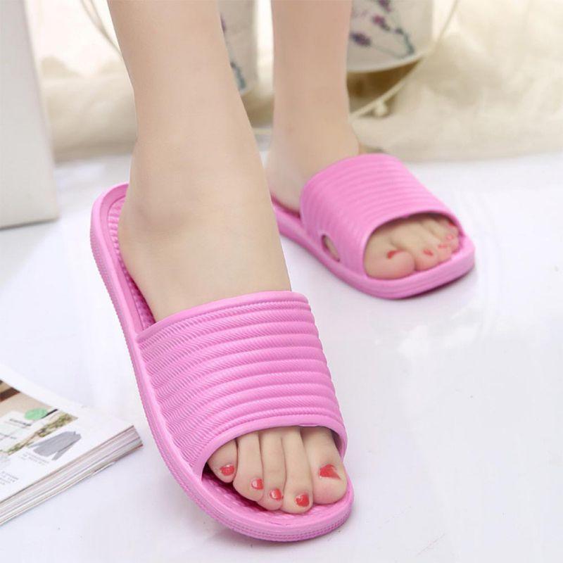 Women-Flip-Flop-Sport-Shower-House-Shoes-Plastic-Slip-Sandals-Slippers-Solid thumbnail 11