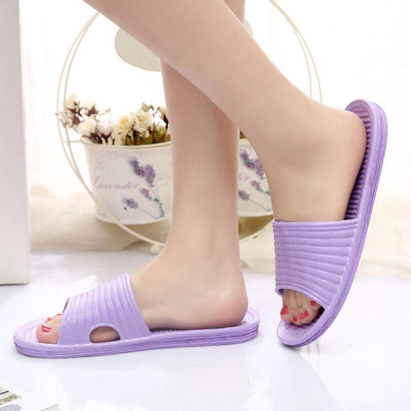 Women-Flip-Flop-Sport-Shower-House-Shoes-Plastic-Slip-Sandals-Slippers-Solid thumbnail 14