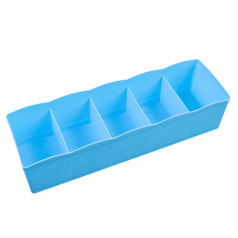 Plastic compartment adjustable jewelry organizer storage for Craft storage boxes plastic