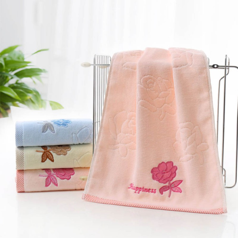 Cotton towels soft absorbent bath sheet hand towel for Bathroom hand towels