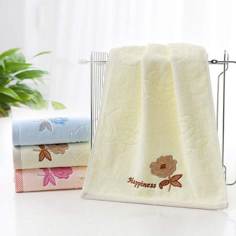 Cotton Towels Soft Absorbent Bath Sheet Hand Towel Bathroom Beach Washcloth Ebay