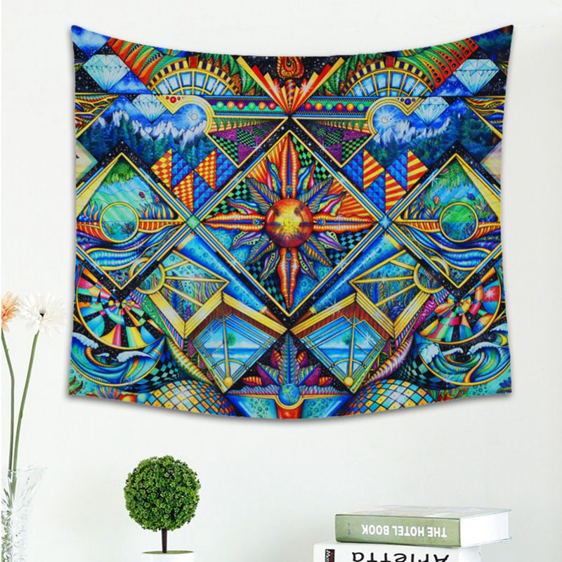 AU-Boho-Mandala-Tapestry-Hippie-Wall-Hanging-Bedspread-Mat-Cover-Home-Room-Decor