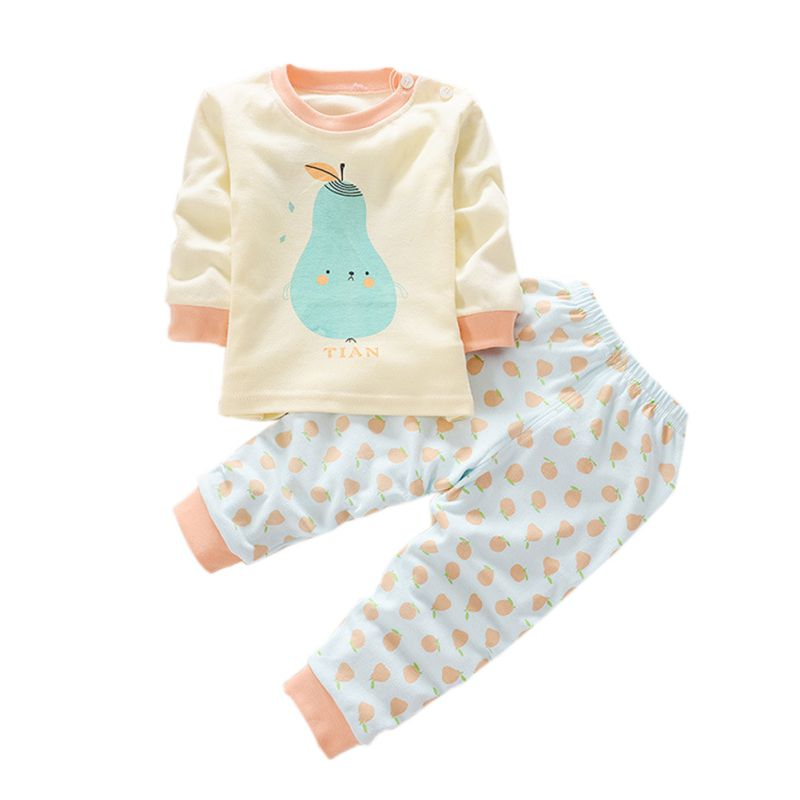 Toddler Baby Kids Boy Girl Nightwear Sleepwear Cotton ...