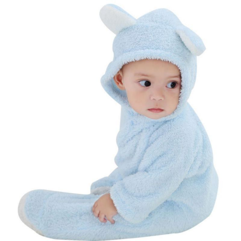 Newborn-Baby-Boy-Girl-Romper-Hooded-Jumpsuit-Bodysuit-Outfits-Bebe-Ensembles