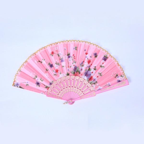 Vintage-Chinese-Japanese-Folding-Silk-Pocket-Flower-Hand-Fan-Wedding-Dance-Party