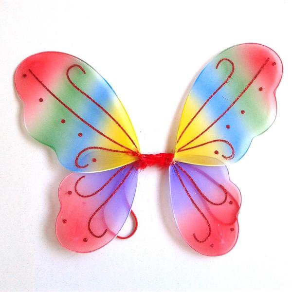 Child Kids Girls Butterfly Angel Fairy Wings Fancy Dress ...