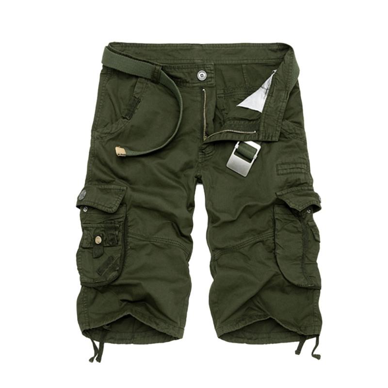 mens combat military camo cargo shorts pants work casual