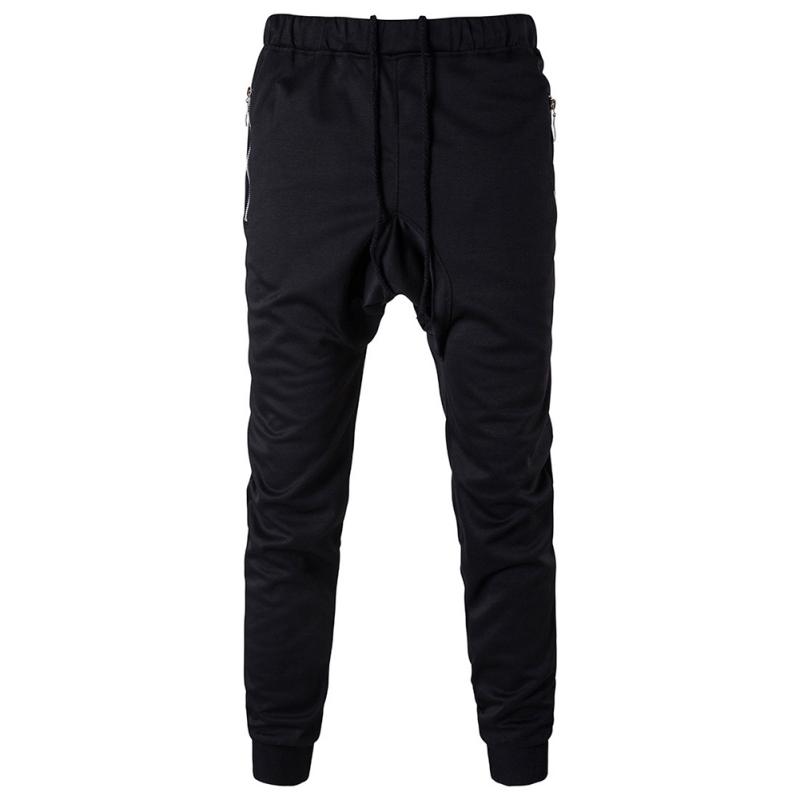 Men-Male-Casual-Jogger-Elastic-Straight-Sport-Pants-Sweatpants-Slim-Fit-Trousers