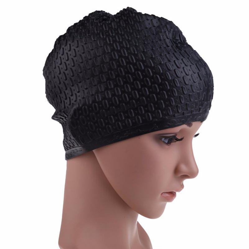 Ladies Waterproof Swimming Hat Ear Protection Women Sports ...