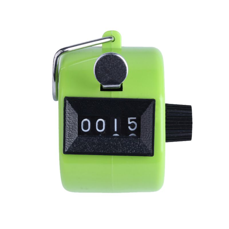 4-Digit-Counting-Manual-Hand-Tally-Number-Counter-Mechanical-Click-Clicker-US thumbnail 15