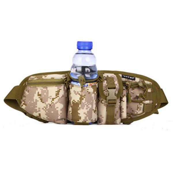 Mens Outdoor Camo Gear Waist Fanny Pack Tactical Hunt ...