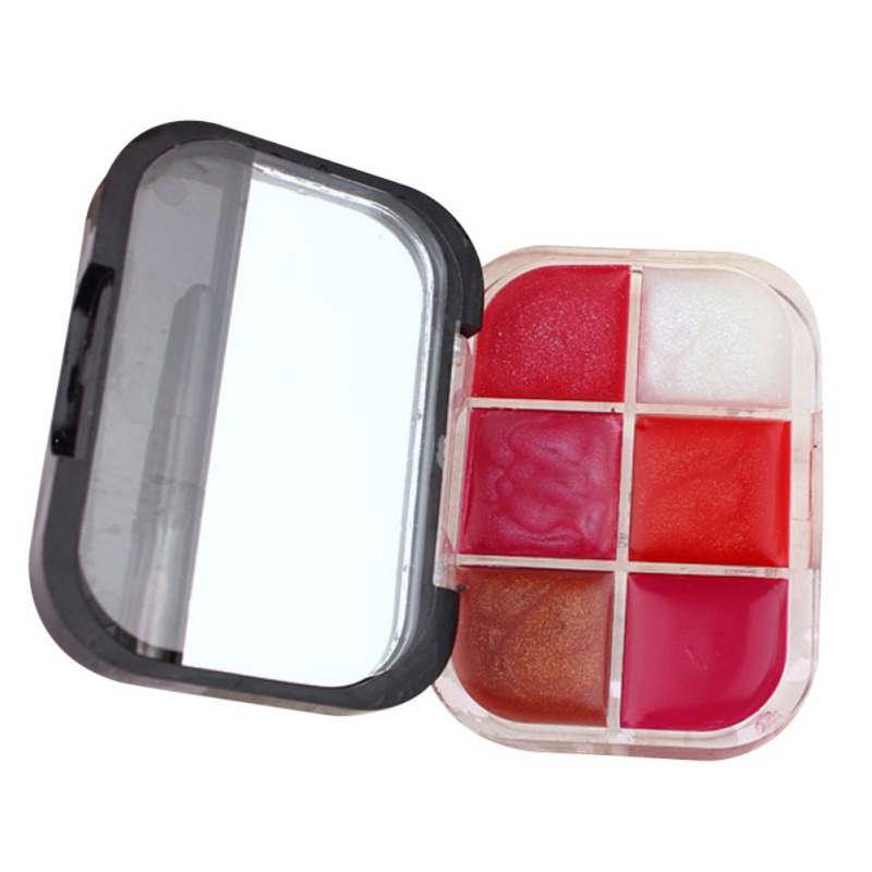 New-Multicolor-Lip-Gloss-Plate-Container-Lip-Tint-Makeup-Lipstick-Cream-Cosmetic