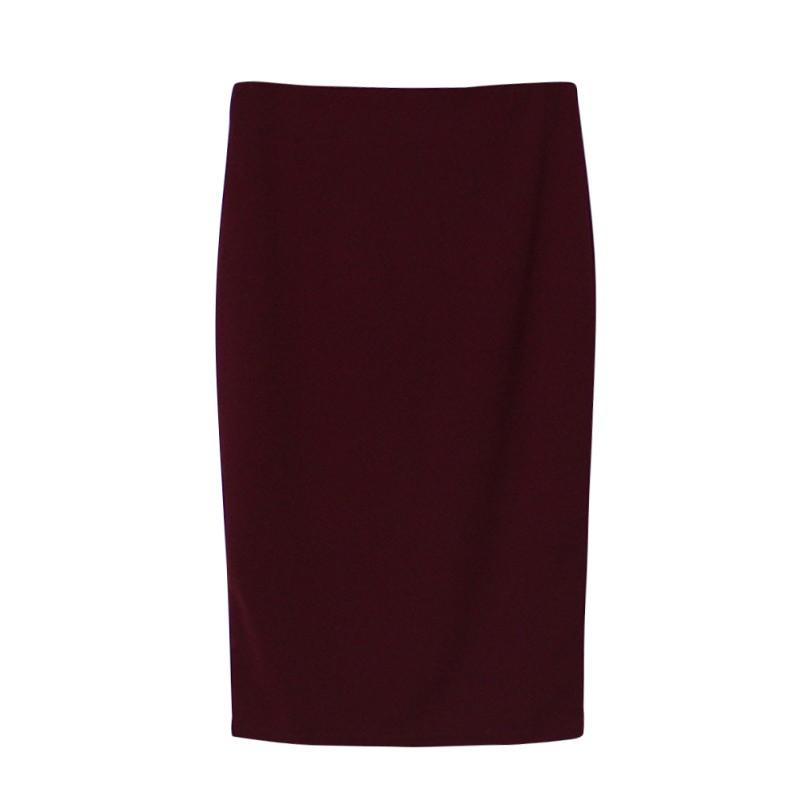 Womens-Ladies-Stretch-Bodycon-Midi-Office-High-Waist-Pencil-Cocktail-Skirt-AU