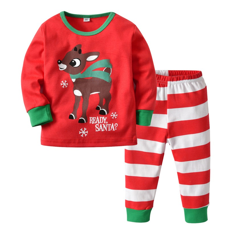 Toddler Newborn Baby Boys Girls First Christmas Clothes Outfits ...