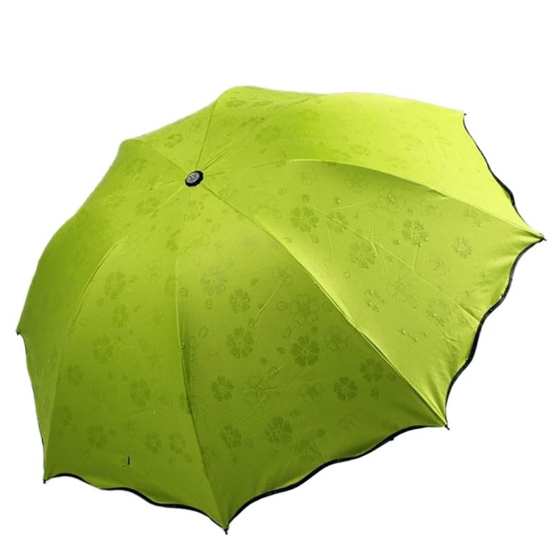 women lady magic flowers dome anti uv umbrella parasol sun rain folding fashion ebay. Black Bedroom Furniture Sets. Home Design Ideas