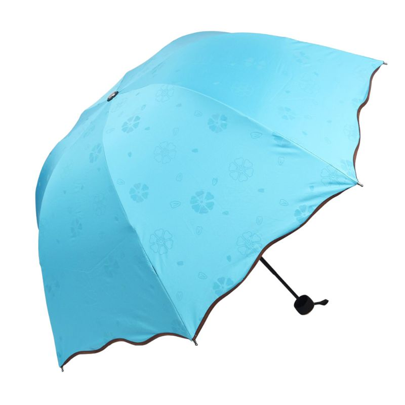 au folding mini lightweight umbrella compact windproof anti uv rain sun parasol ebay. Black Bedroom Furniture Sets. Home Design Ideas