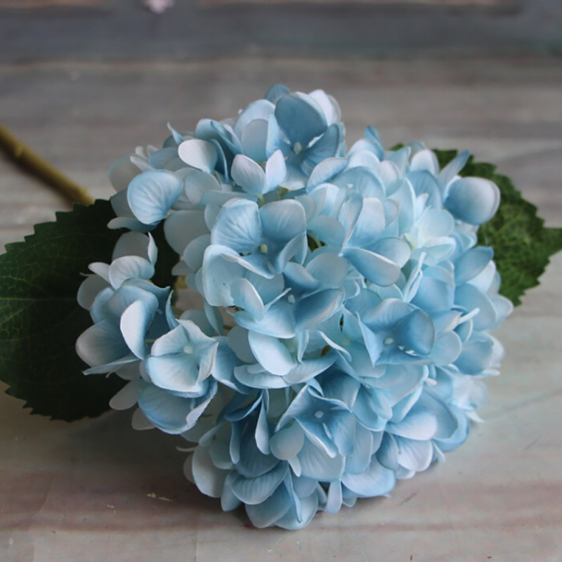 AU Artificial Fake Silk Flower Bridal Peony Hydrangea
