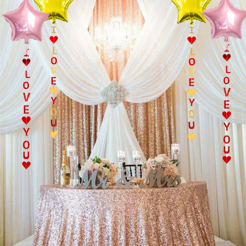 1 1m I Love You Bunting Banners Garland Valentine S Day Wedding