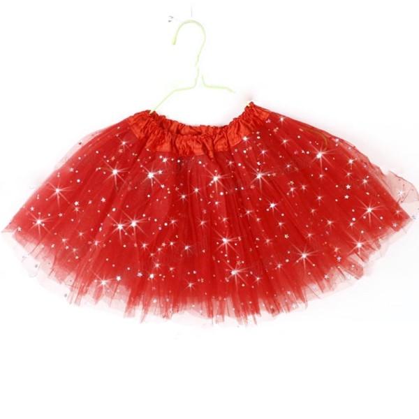 Princess Tutu Skirt Girls Kids Party Ballet Dance