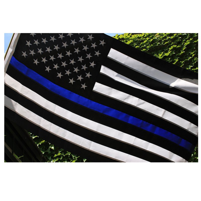 Thin Blue Line USA American Flag Police Law Enforcement ...