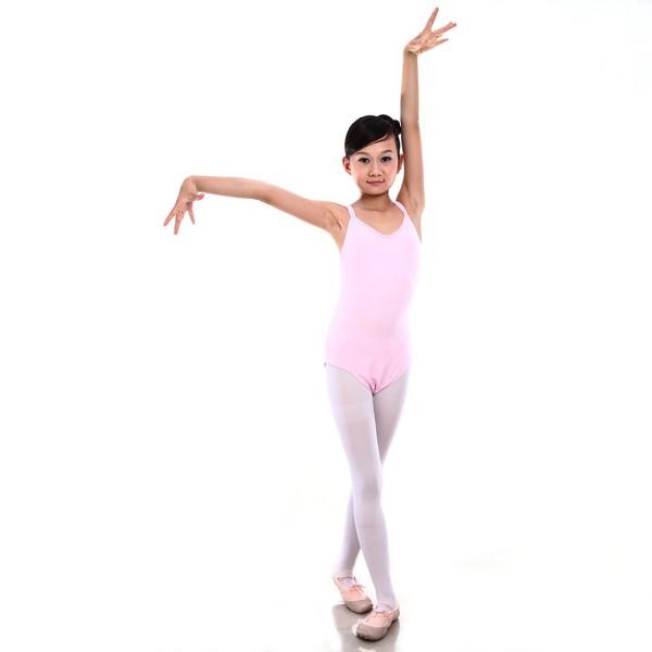 Girls-Gymnastics-Ballet-Dancewear-Cotton-Lycra-Stretchy-Unitards-Leotard-Costume