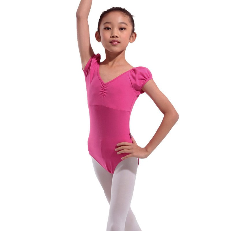 Child Kids Girls Uniform Leotard Dance Gymnastics Ballet ...
