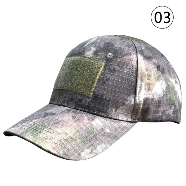 Men Women's Baseball Cap Camo Tactical Military Camouflage Adjustment Strap Hat