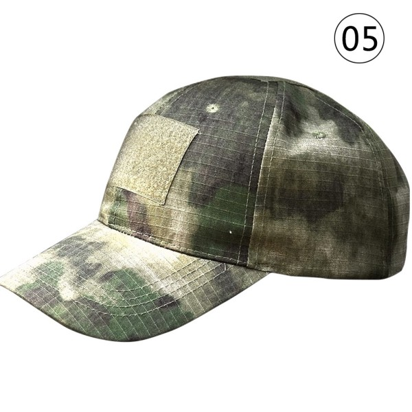 Unisex Woodland Digital Camo Tactical Military Camouflage Patch Baseball Cap Hat