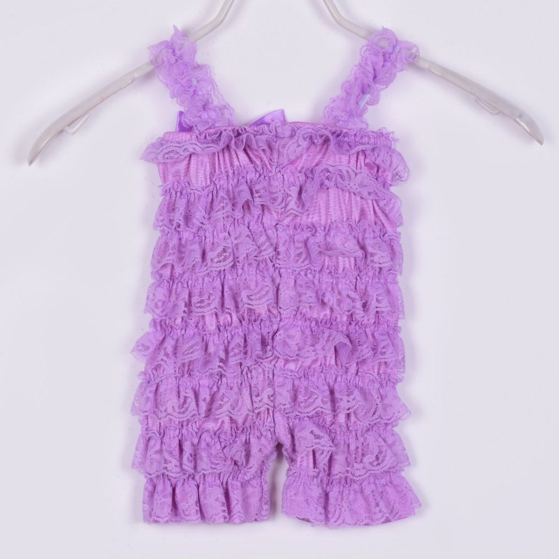 Beautiful Baby Ruffle Lace Rompers Newborn Infant Toddler