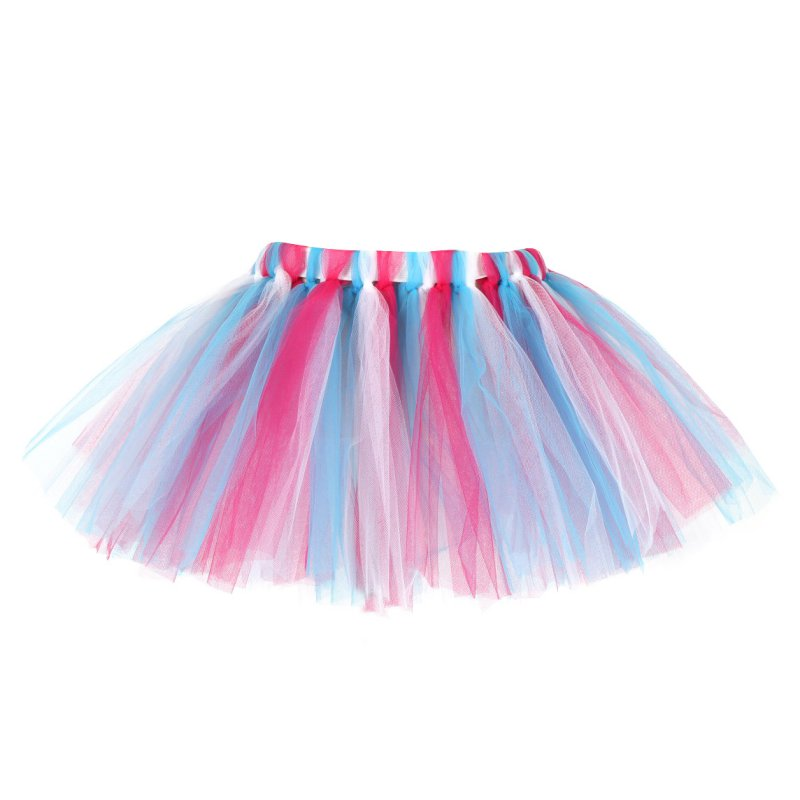 Kids-Baby-Girl-Rainbow-Princess-Dress-Ballet-Dance-Tutu-Skirt-Dancewear-Layered