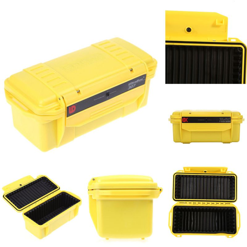 outdoor waterproof survival container carry box pvc shockproof storage