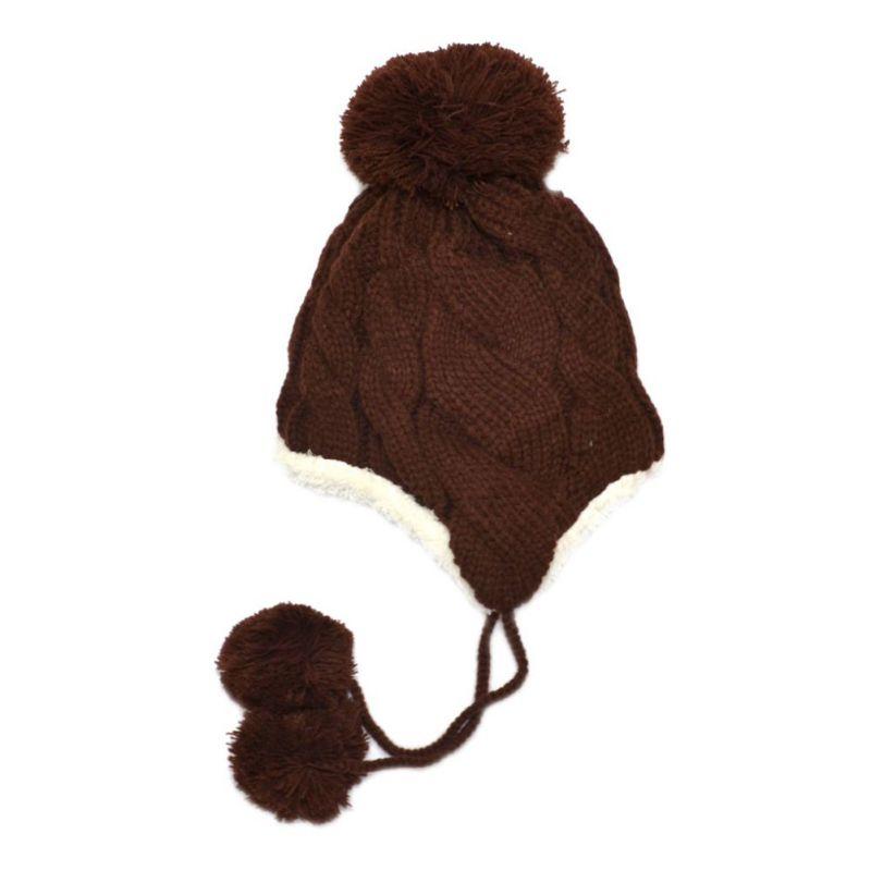 new winter infant baby hat cap warm cute kids boys girls