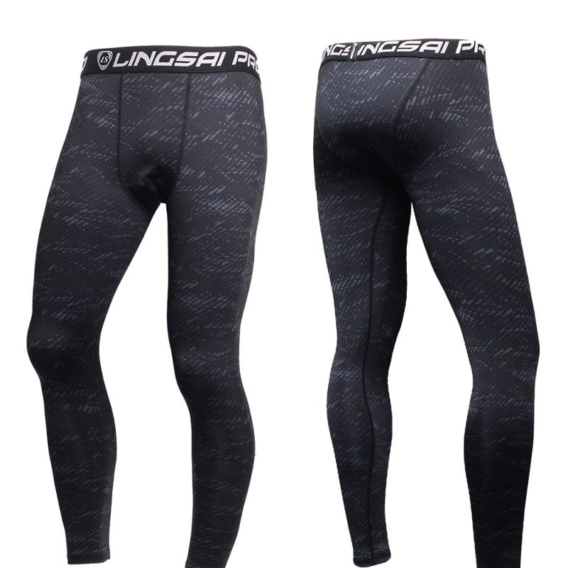 Mens Boys Compression Base Layer Underwear Athletic Long Pants Leggings Trousers | eBay