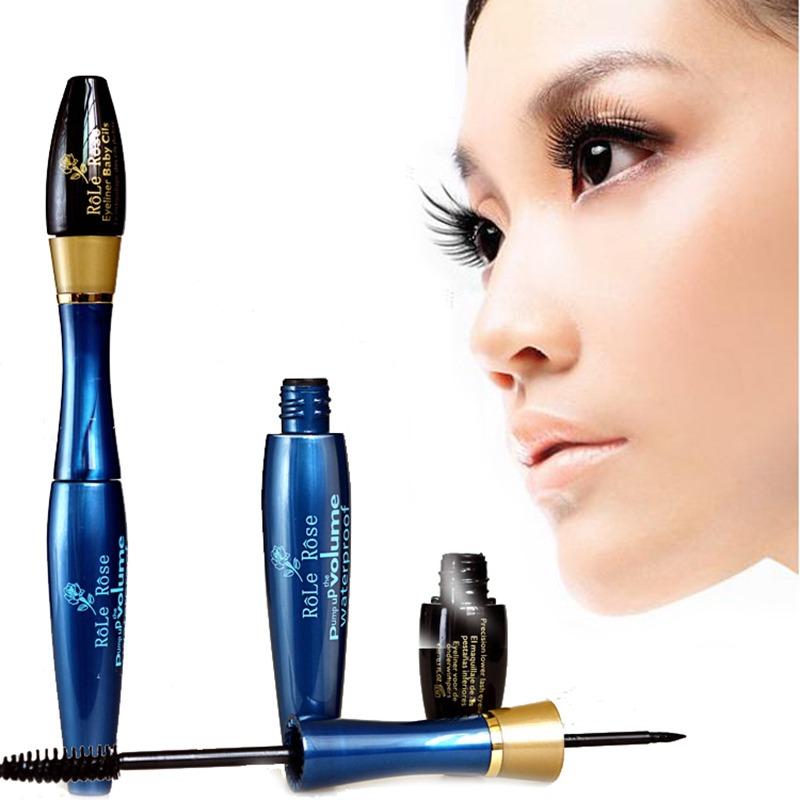 Hot Natural Lash Extension Liquid Eyelash Long Curling Mascara 3d