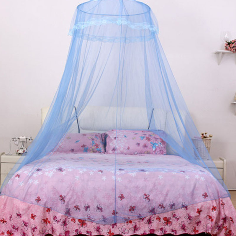 Zanzariera baldacchino tenda letto matrimoniale insetti zanzare campeggio estate ebay - Zanzariera per letto matrimoniale ...