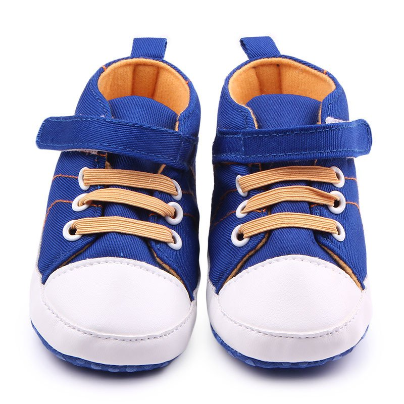 baby boy soft sole football crib shoes sneakers