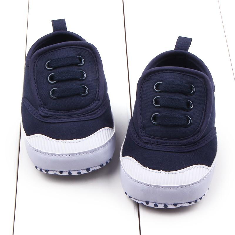 newborn toddler baby boy infant canvas soft sole