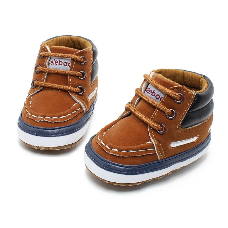 Newborn Toddler Baby Infant Boy Girl Soft Sole Crib Shoes ...