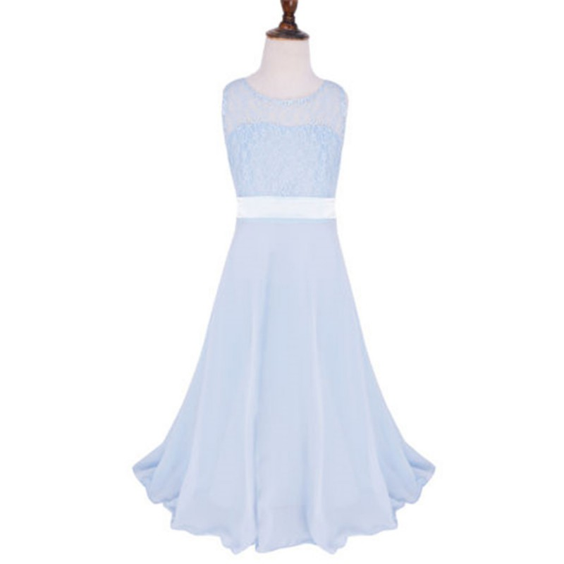girl baby children pageant wedding bridesmaid party dress