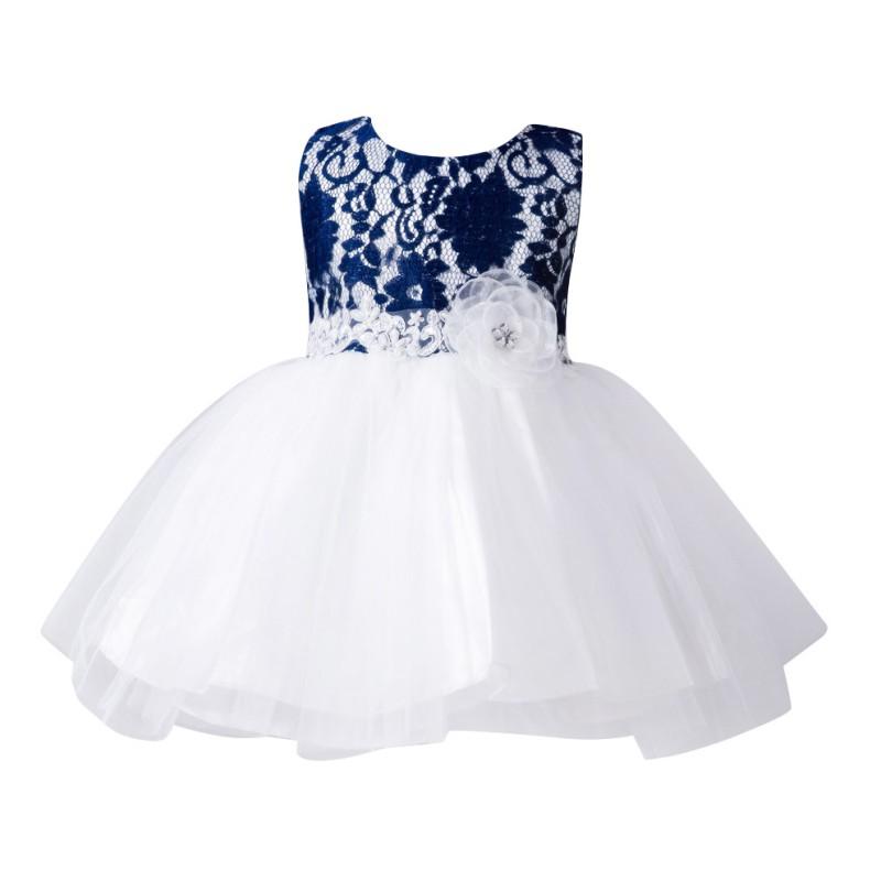 baby girl toddler pageant tutu fancy dress flower princess
