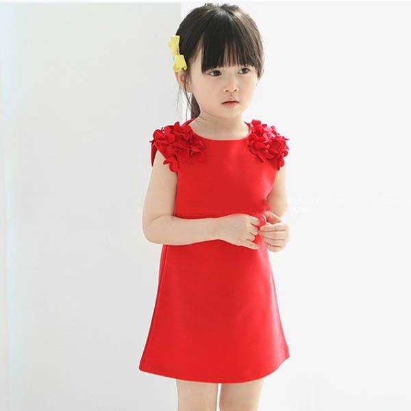 Hot Summer Baby Kids Girls Flower Sleeveless Princess ...