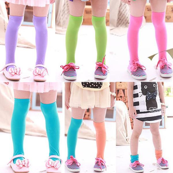 Baby Princess Salon Beauty Leg Ballet: Cute Baby Kid Toddler Girls Knee High Socks Tights Leg