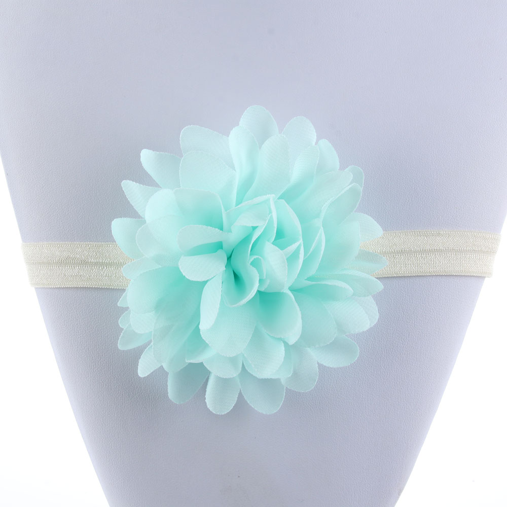 Usa Baby Girls Lace Big Flower Headband Hair Band Headwear For Party