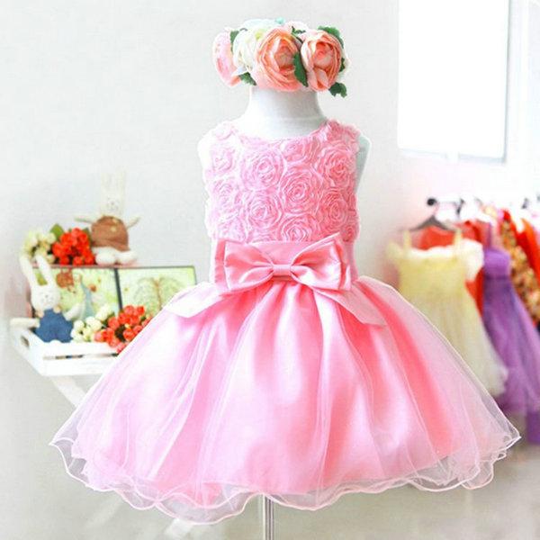 Vestido de Boda vestidos de tul concurso del Niño Bebé Niña Princesa ...