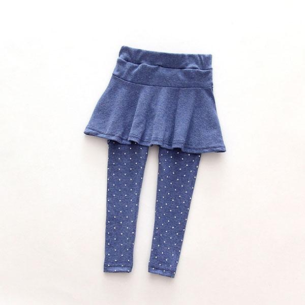 Toddler Girls Culottes Leggings Pants Kids Legging Skirts Leg Warm Pantskirt