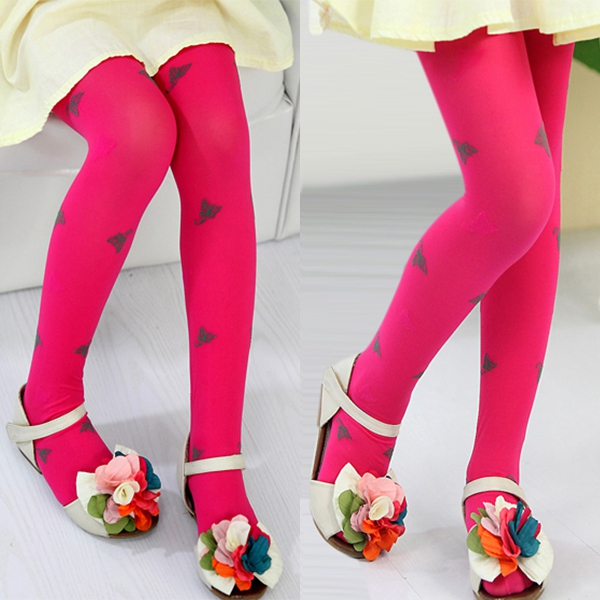 Baby Tights With Shoe Pattern