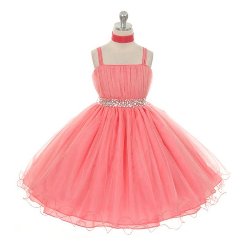 Flower Kids Girl Tutu Dress Wedding Party Dresses Age 3 5 6 7 8 9 10 ...