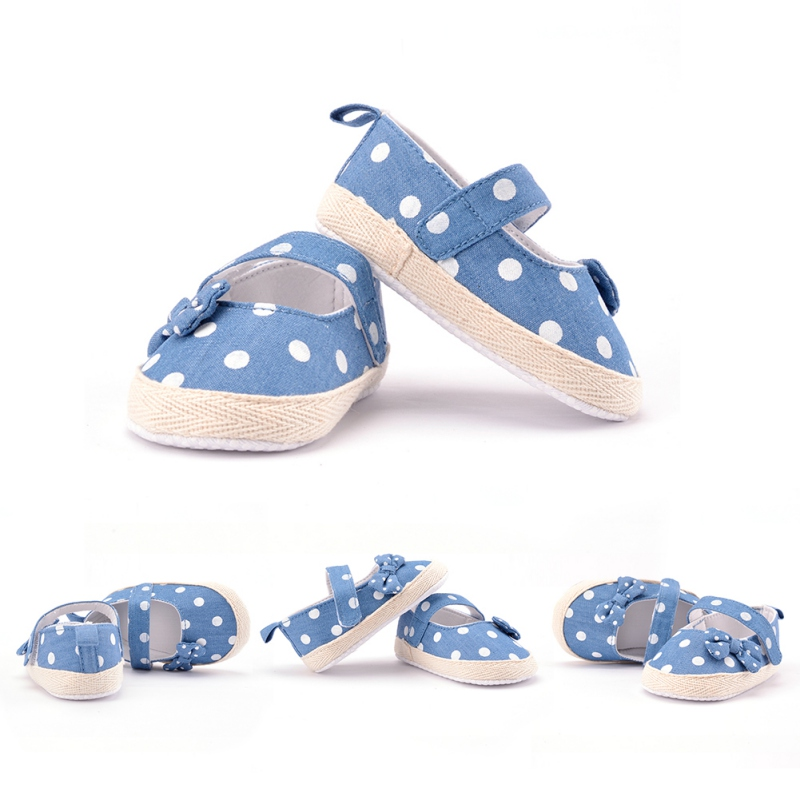 0 12m baby walking shoes soft sole lace cloth